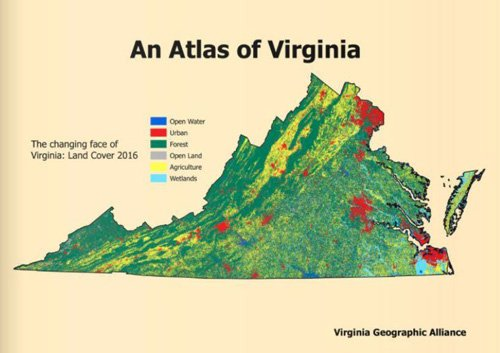 Atlas of Virginia Cover